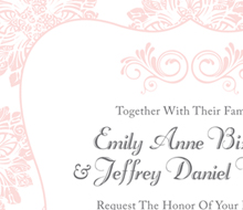 Bizwell/Weller Wedding Invitation Suite