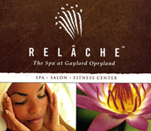 Relache Spa at Gaylord Opryland – Marketing Collateral